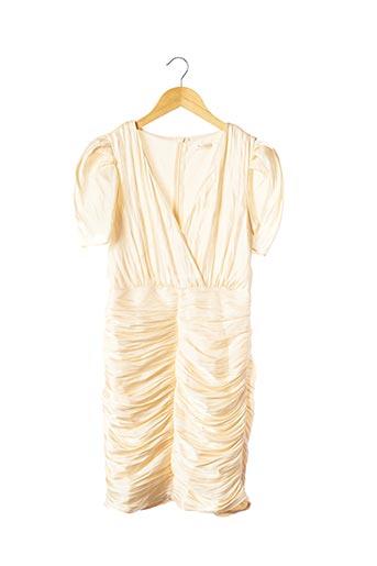 Robe courte beige ALLYSON pour femme