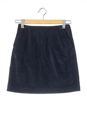 Jupe courte bleu JOULES pour femme