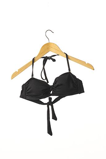 Haut de maillot de bain noir ACCESSORIZE pour femme