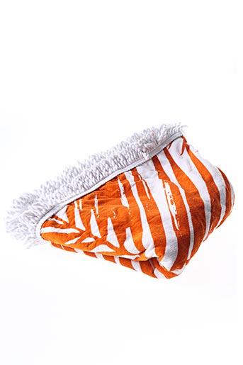 Serviette de plage orange LANCASTER pour femme