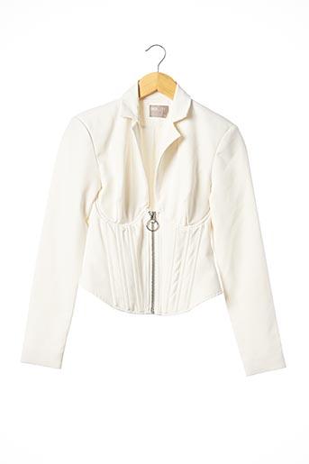 Veste chic / Blazer beige ASOS pour femme