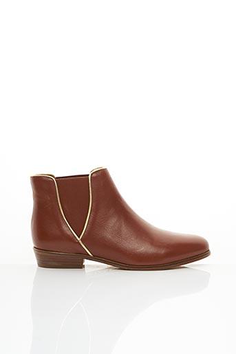 Bottines/Boots marron BOBBIES pour femme