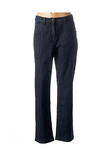 Jeans coupe slim bleu EVER EASY BY JAC JAC pour femme
