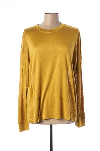 T-shirt manches courtes jaune EQUIPMENT pour femme