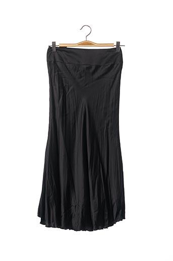 Jupe mi-longue noir TEENFLO pour femme