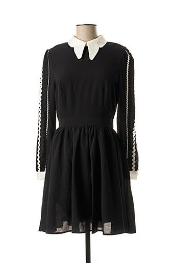 Robe mi-longue noir LILI SIDONIO pour femme