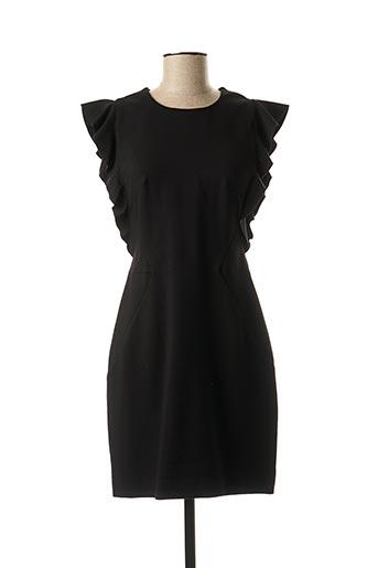 Robe mi-longue noir MARCIANO pour femme