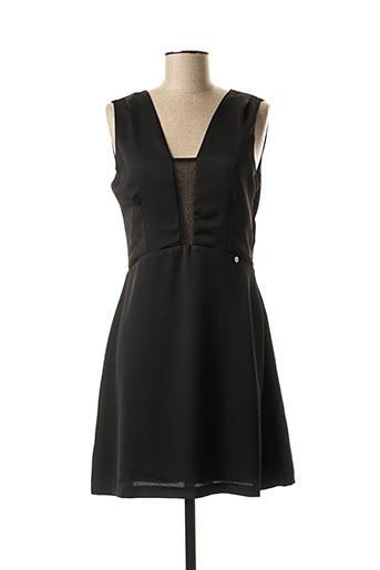 Robe mi-longue noir SALSA pour femme