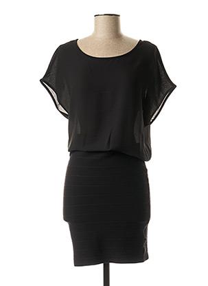Robe mi-longue noir GUESS pour femme