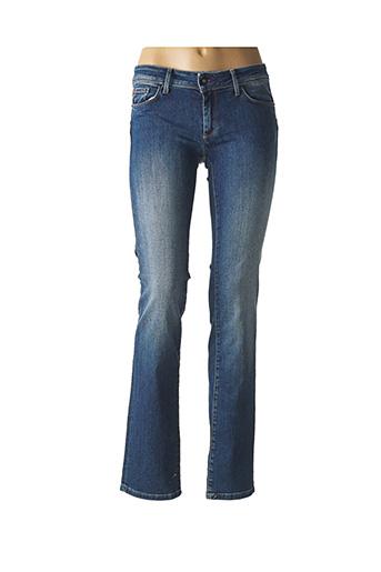Jeans coupe droite bleu SALSA pour femme