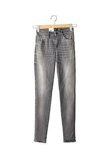 Jeans skinny gris GUESS pour femme