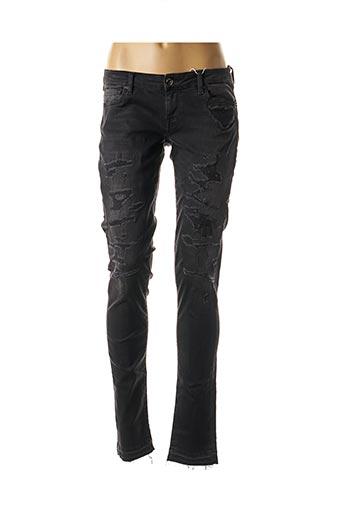 Jeans skinny noir GUESS pour femme