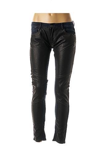 Pantalon 7/8 bleu LE TEMPS DES CERISES pour femme