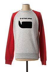 Sweat-shirt gris G STAR pour homme seconde vue