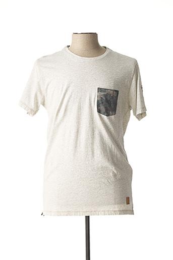 T-shirt manches courtes beige SALSA pour homme