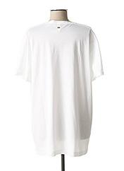 T-shirt manches courtes blanc G STAR pour homme seconde vue