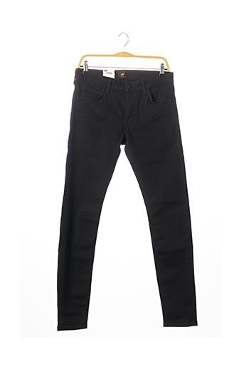 Jeans coupe slim noir LEE COOPER pour homme