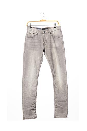 Jeans skinny gris SALSA pour homme