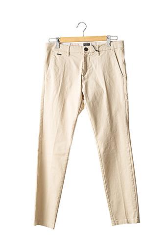 Pantalon chic beige GUESS pour homme
