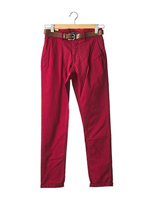 Pantalon chic rouge SALSA pour homme