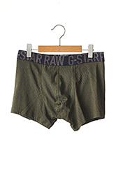 Shorty/Boxer vert G STAR pour homme seconde vue