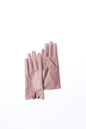 Gants rose GUESS pour femme