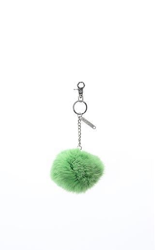 Porte-clé vert OAKWOOD pour femme