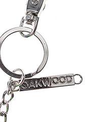 Porte-clé vert OAKWOOD pour femme seconde vue