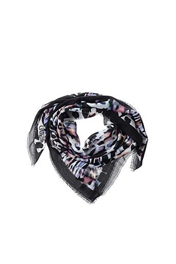 Foulard noir GUESS pour femme