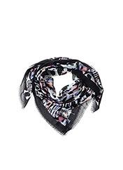 Foulard noir GUESS pour femme seconde vue