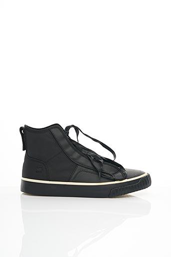 Baskets noir G STAR pour homme