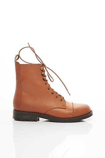 Bottines/Boots marron YEP pour fille