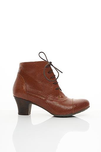Bottines/Boots marron BRAKO pour femme