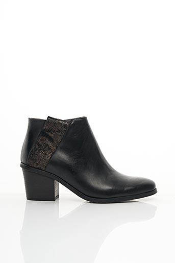 Bottines/Boots noir MINKA DESIGN pour femme
