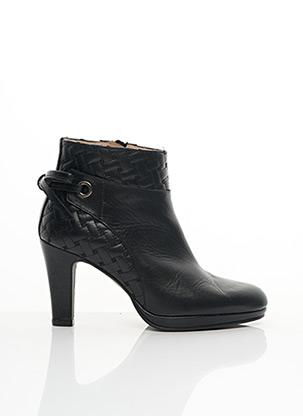 Bottines/Boots noir BRENDA ZARO pour femme