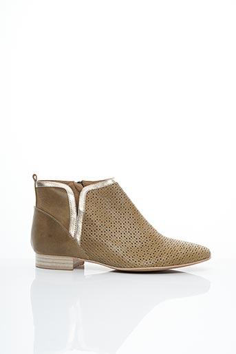 Bottines/Boots vert EMILIE KARSTON pour femme