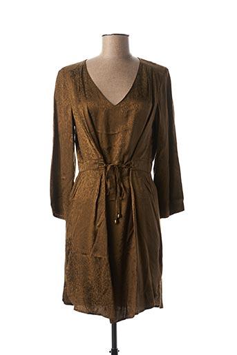 Robe courte vert LOLA ESPELETA pour femme