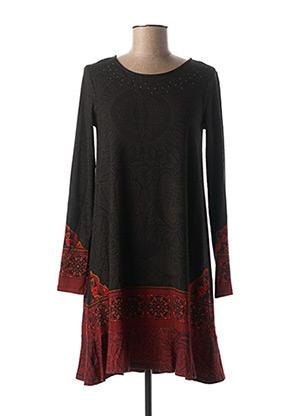 Robe courte gris DESIGUAL pour femme