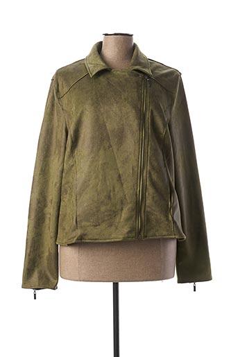 Veste casual vert GARCIA pour femme