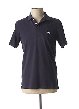 Polo manches courtes bleu OXBOW pour homme