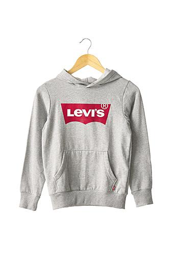 Sweat-shirt gris LEVIS pour enfant