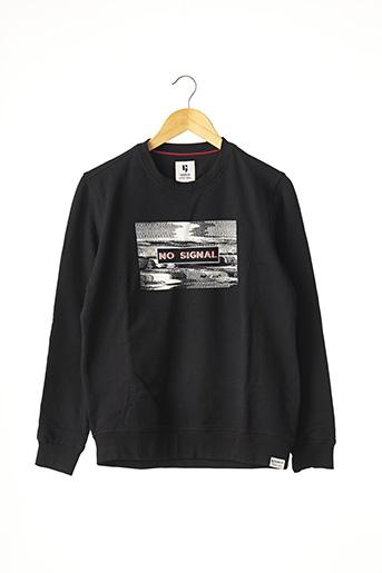 Sweat-shirt noir GARCIA pour garçon