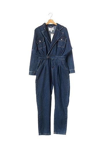 Combi-pantalon bleu COLORFUL pour femme