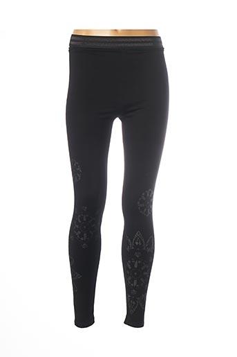 Legging noir DESIGUAL pour femme