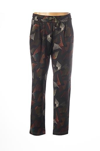 Pantalon casual vert PAKO LITTO pour femme