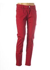 Pantalon casual rouge MORGAN pour femme seconde vue