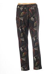 Pantalon casual vert PAKO LITTO pour femme seconde vue