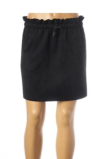 Jupe courte noir TEDDY SMITH pour femme