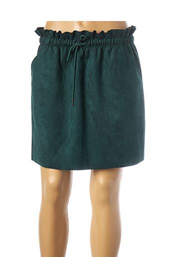Jupe courte vert TEDDY SMITH pour femme