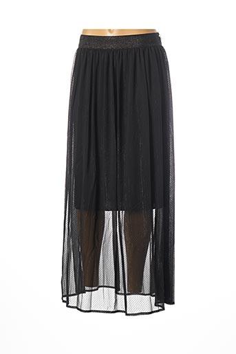 Jupe longue noir PAKO LITTO pour femme